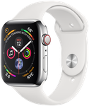 Apple Watch Series 4 44mm (Sprint) [A1976 - Cellular], Stainless - Silver