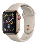 Apple Watch Series 4 40mm (Verizon) [A1975 - Cellular], Stainless - Gold