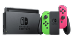 Nintendo Switch - Pink & Green, 32 GB