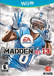 Madden NFL 13 for Nintendo Wii U