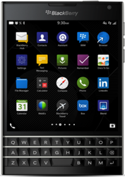 Blackberry Passport (Unlocked) - Black, 32 GB