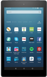 Amazon Fire HD 8 2016 (Wi-Fi) - Black, 16 GB