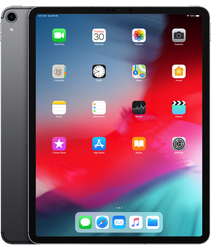 "Apple iPad Pro 12.9"" 3rd Gen 2018 (Unlocked) [A2014] - Gray, 64 GB"