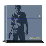 PlayStation 4, Uncharted - Blue, 500 GB