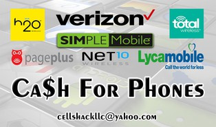 The Cell Shack L.L.C Banner