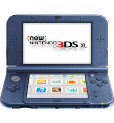 New Nintendo 3DS XL - Purple, 1 GB