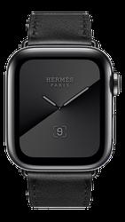 Apple Watch Series 5 40mm (Unlocked) [A2094 Cellular], Hermes - Silver