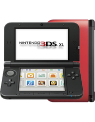 Nintendo 3DS XL - Red, 1 GB
