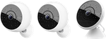 Logitech Circle 2 Home Security Camera, Combo: 2 Wireless Cameras + 1 Wired Camera