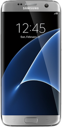 Samsung Galaxy S7 Edge (Verizon) [SM-G935V] - Silver, 32 GB