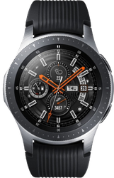 Samsung Galaxy Watch 46mm (Unlocked), LTE - Silver