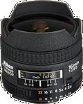 Nikon AF FX Fisheye Nikkor 16mm f2.8G D