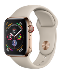 Apple Watch Series 4 40mm (Unlocked) [A1975 - Cellular], Stainless - Gold