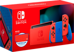 Nintendo Switch, Mario Red & Blue Edition - Red & Blue, 32 GB