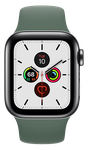 Apple Watch Series 5 40mm (Verizon) [A2094 Cellular], Stainless Steel - Silver