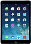 Apple iPad Air (Wi-Fi) - Gray, 16 GB