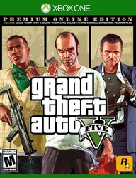 Grand Theft Auto V, Premium Online Edition for Xbox One