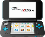 Nintendo 2DS XL - Black, 1 GB