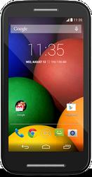 Moto E (TracFone) - Black, 4 GB