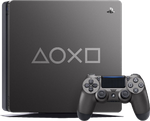 PlayStation 4 Slim, Days of Play - Gray, 1 TB