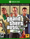Used Grand Theft Auto V, Premium Online Edition for Xbox One