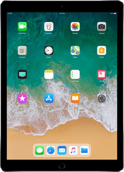 "Apple iPad Pro 12.9"" 2nd Gen 2017 (Wi-Fi) - Silver, 256 GB"
