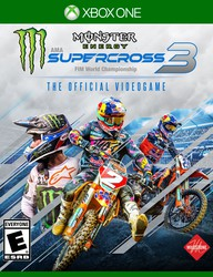 Monster Energy Supercross: The Official Videogame 3 for sale