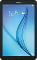 Samsung Galaxy Tab E 8.0 (T-Mobile) [SM-T377T] - Black, 16 GB