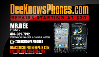 Dee Knows Phones Banner