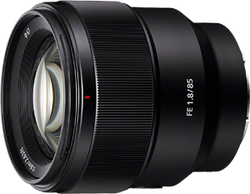 Cheap Sony 85mm F1.8-22 Medium-Telephoto Fixed Prime