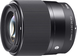 Sigma 30mm f1.4 DC DN lens for Micro 4/3 for sale