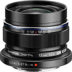 Olympus M. Zuiko Digital ED 12mm f2.0  for sale