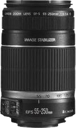 Canon EF-S 55-250mm f4-5.6 IS for sale