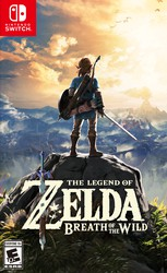 The Legend of Zelda: Breath of the Wild for sale