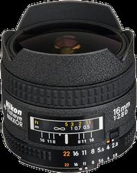 Nikon AF FX Fisheye Nikkor 16mm f2.8G D for sale