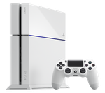 PlayStation 4 - White, 500 GB