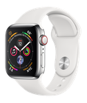 Apple Watch Series 4 40mm (Sprint) [A1975 - Cellular], Stainless - Silver