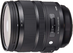 Sigma 24-70mm f2.8 DG OS HSM Art for Canon for sale on Swappa
