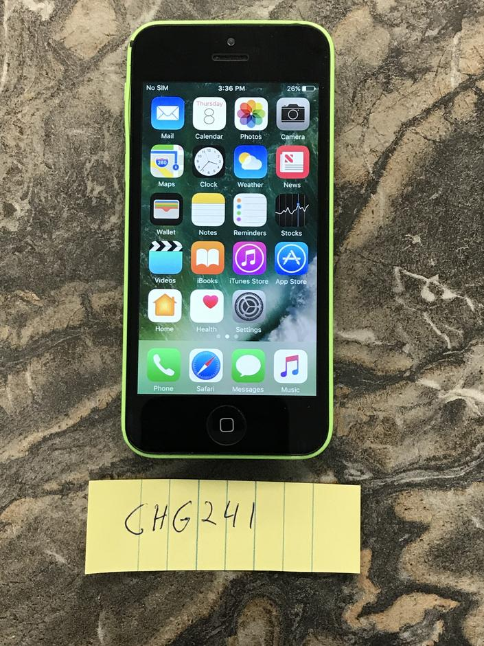used iphone 5c for sale chg241 apple iphone 5c unlocked for 80 swappa 5223