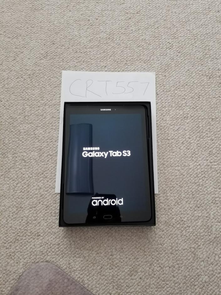 crt557 samsung galaxy tab s3   9 7 wi fi   for sale