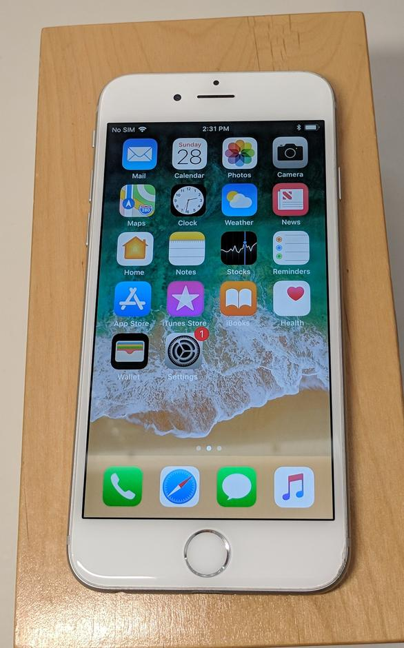 exv719 apple iphone 6 unlocked for sale 200 swappa. Black Bedroom Furniture Sets. Home Design Ideas