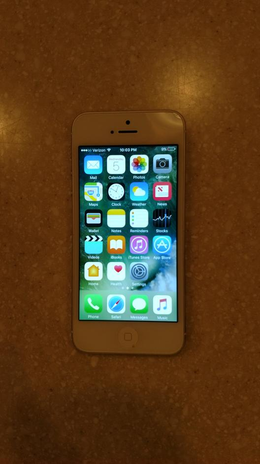 iphone 5 for sale verizon ghj462 apple iphone 5 verizon for 85 swappa 17376