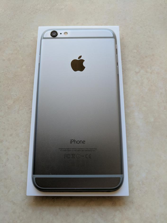 iphone 6 verizon for sale iyb070 apple iphone 6 plus verizon for 343 swappa 17591