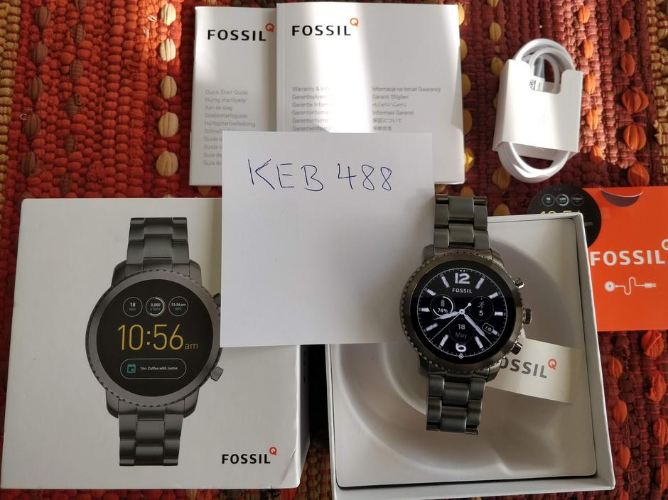 How do you search a serial number for a fossil watch to ...