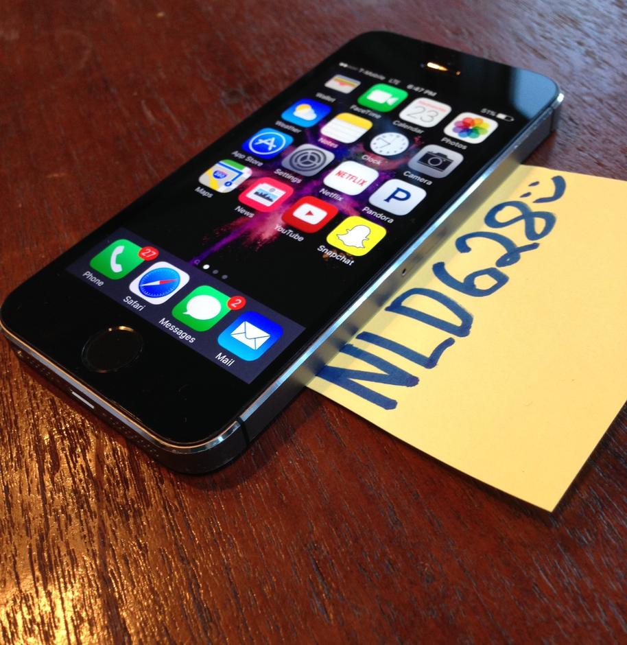 iphone 5 unlocked for sale nld628 apple iphone 5s unlocked for 294 swappa 17407