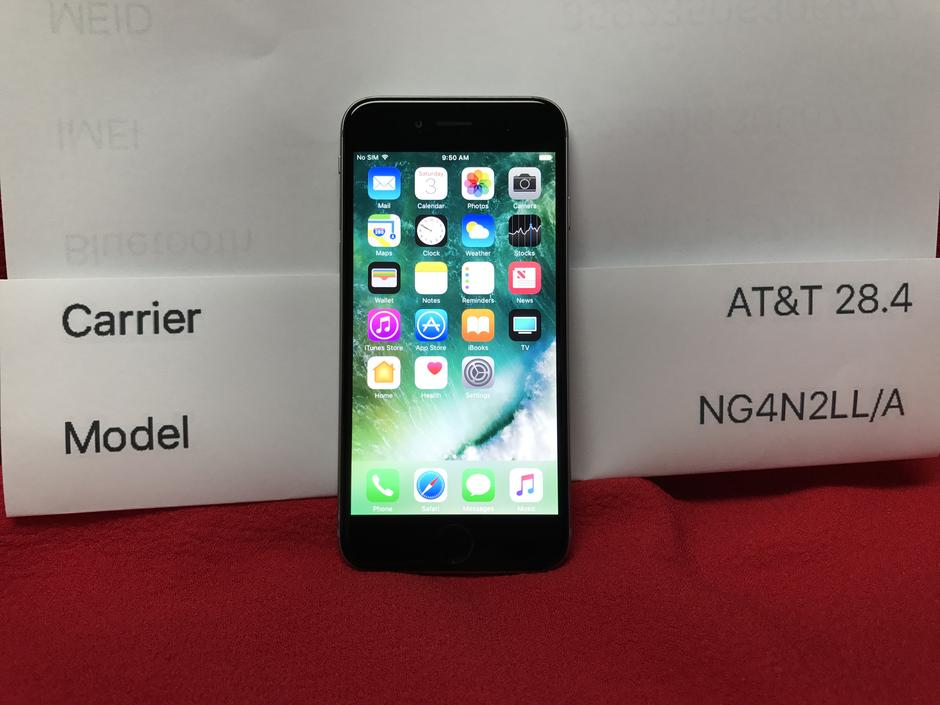 pmk719 apple iphone 6 at t for sale 200 swappa. Black Bedroom Furniture Sets. Home Design Ideas