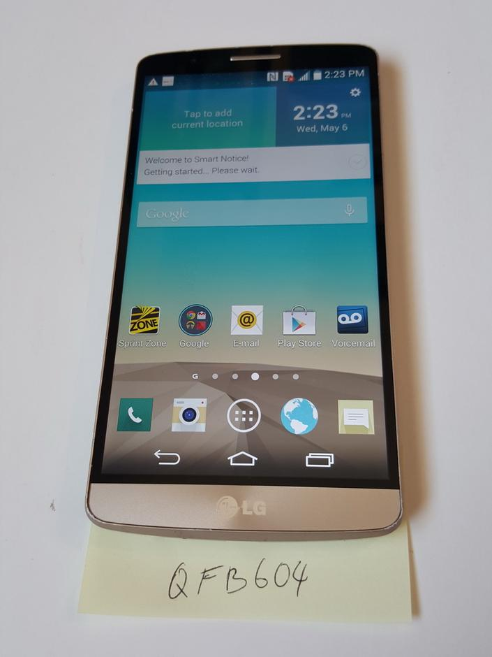 QFB604: LG G3 (Sprint) - For Sale $199 | Swappa