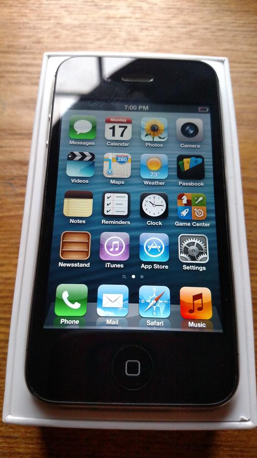 sprint iphones for sale qtm455 apple iphone 4 sprint for 55 swappa 16188