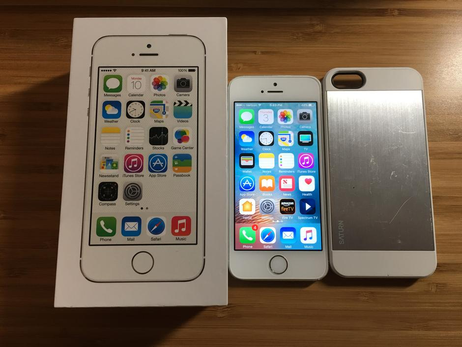 verizon iphone 5s for sale sae277 apple iphone 5s verizon for 140 swappa 18151