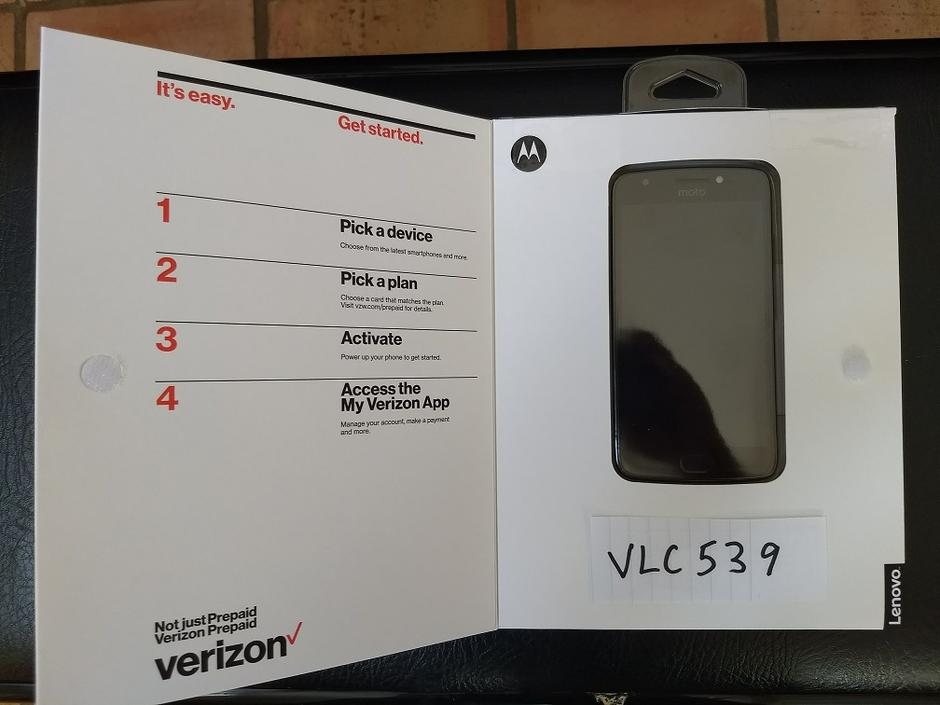 Moto E4 Prepaid (Verizon) For Sale - $65 on Swappa (VLC539)